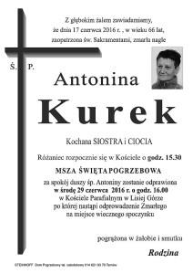 Antonina kurek