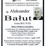 BAŁUT ALEKSANDER