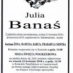 BANAŚ JULIA