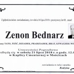 BEDNARZ ZENON