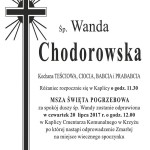 CHODOROWSKA WANDA