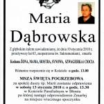 DĄBROWSKA MARIA