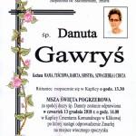 GAWRYŚ DANUTA