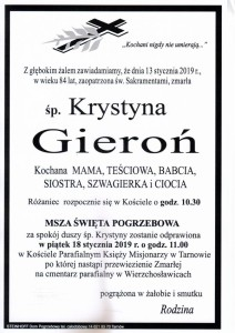 GIERON KRYSTYNA