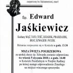 JAŚKIEWICZ EDWARD