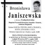 Janiszewska Bronisława