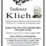 KLICH TADEUSZ
