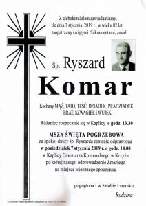 KOMAR RYSZARD