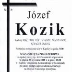 KOZIK JÓZEF