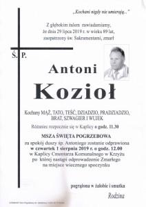 KOZIOŁ ANTONI