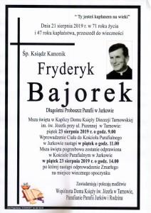 KS. FRYDERYK BAJOREK