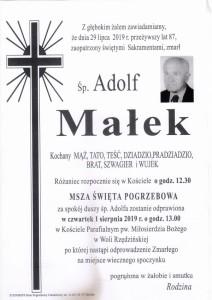 MAŁEK ADOLF