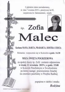 MALEC ZOFIA