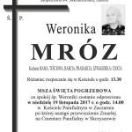MRÓZ WERONIKA
