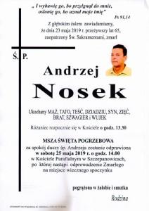 NOSEK ANDRZEJ