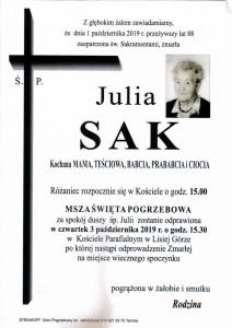 SAK JULIA