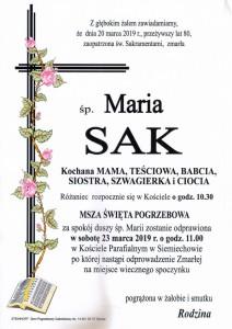 SAK MARIA