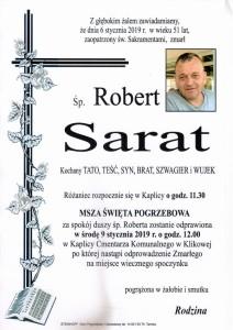 SARAT ROBERT