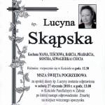 SKĄPSKA LUCYNA