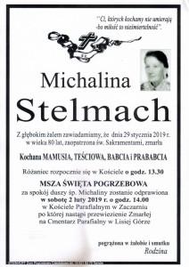 STELMACH MICHALINA