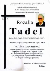 TADEL ROZALIA