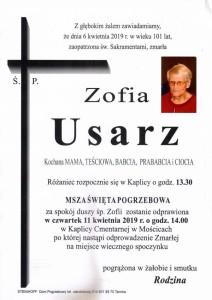 USARZ ZOFIA