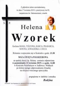 WZOREK HELENA