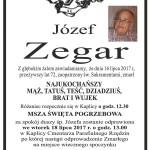 ZEGAR JÓZEF