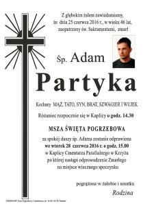 adam partyka