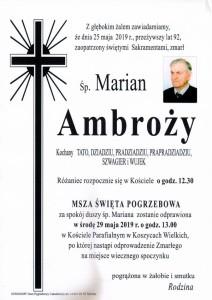 ambrozy marian