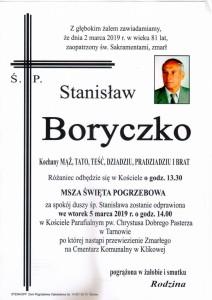 boryczko stanisław