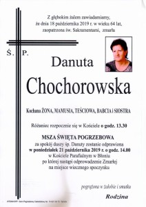 chochorowska danuta