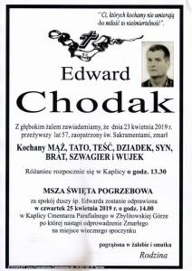 chodak edward