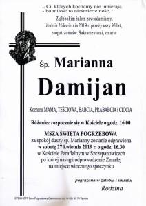 damijan marianna
