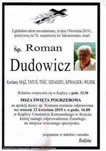 dudowicz roman