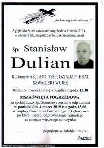 dulian stanisław