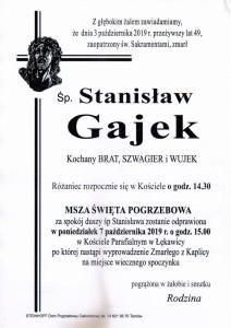 gajek stanisław