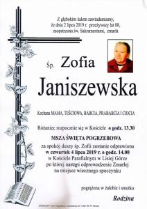 janiszewska zofia