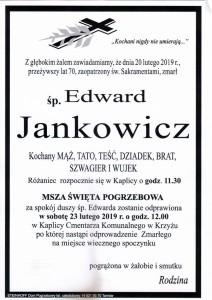 jankowicz edward