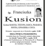 kusion franciszka