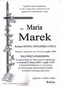 marek maria