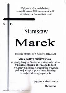marek stanisław