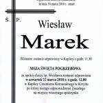 marek wiesław