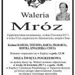 mróz waleria