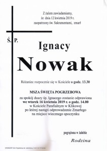nowak ignacy