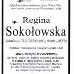 sokołowska regina