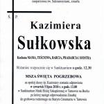 sułkowska kazimiera