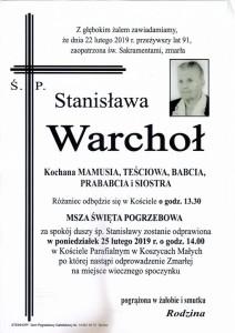 warchoł stanisława