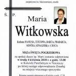 witkowska maria