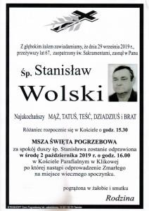 wolski stanisław